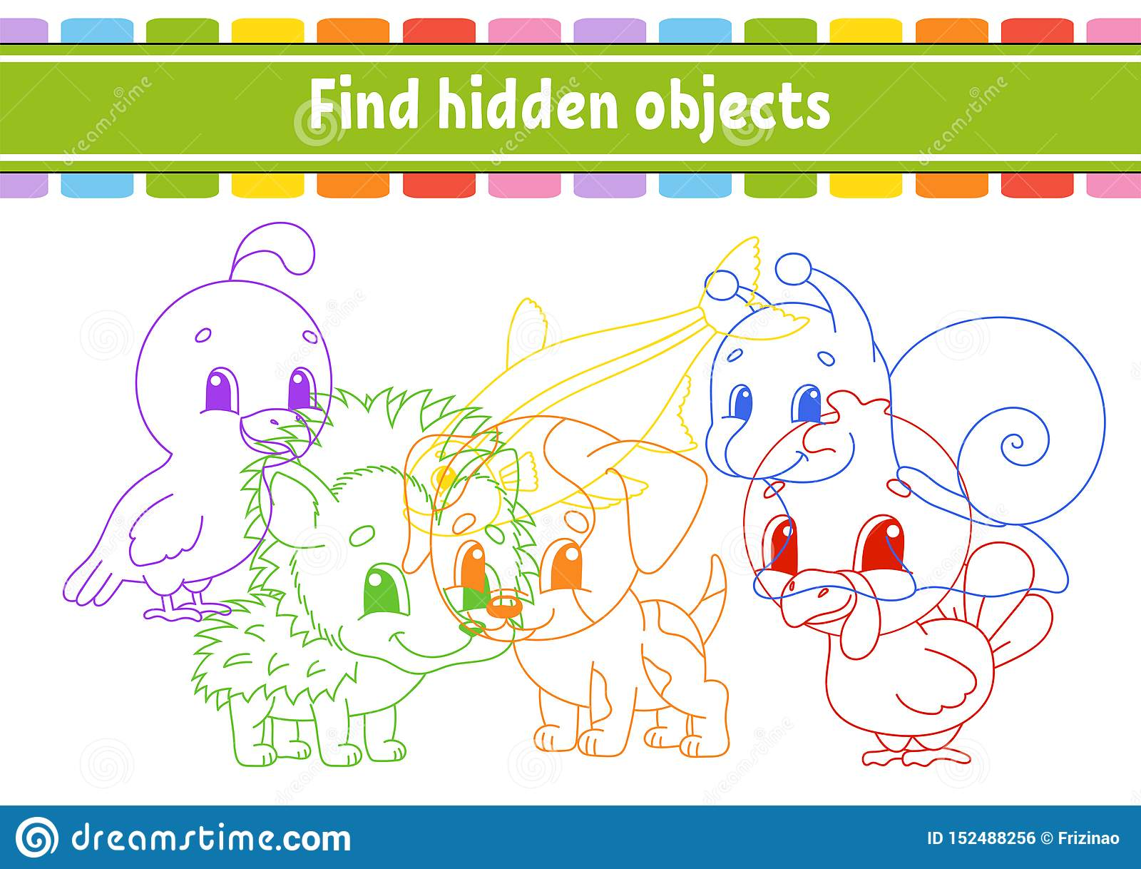 Find And Count Education Developing Worksheet Activity