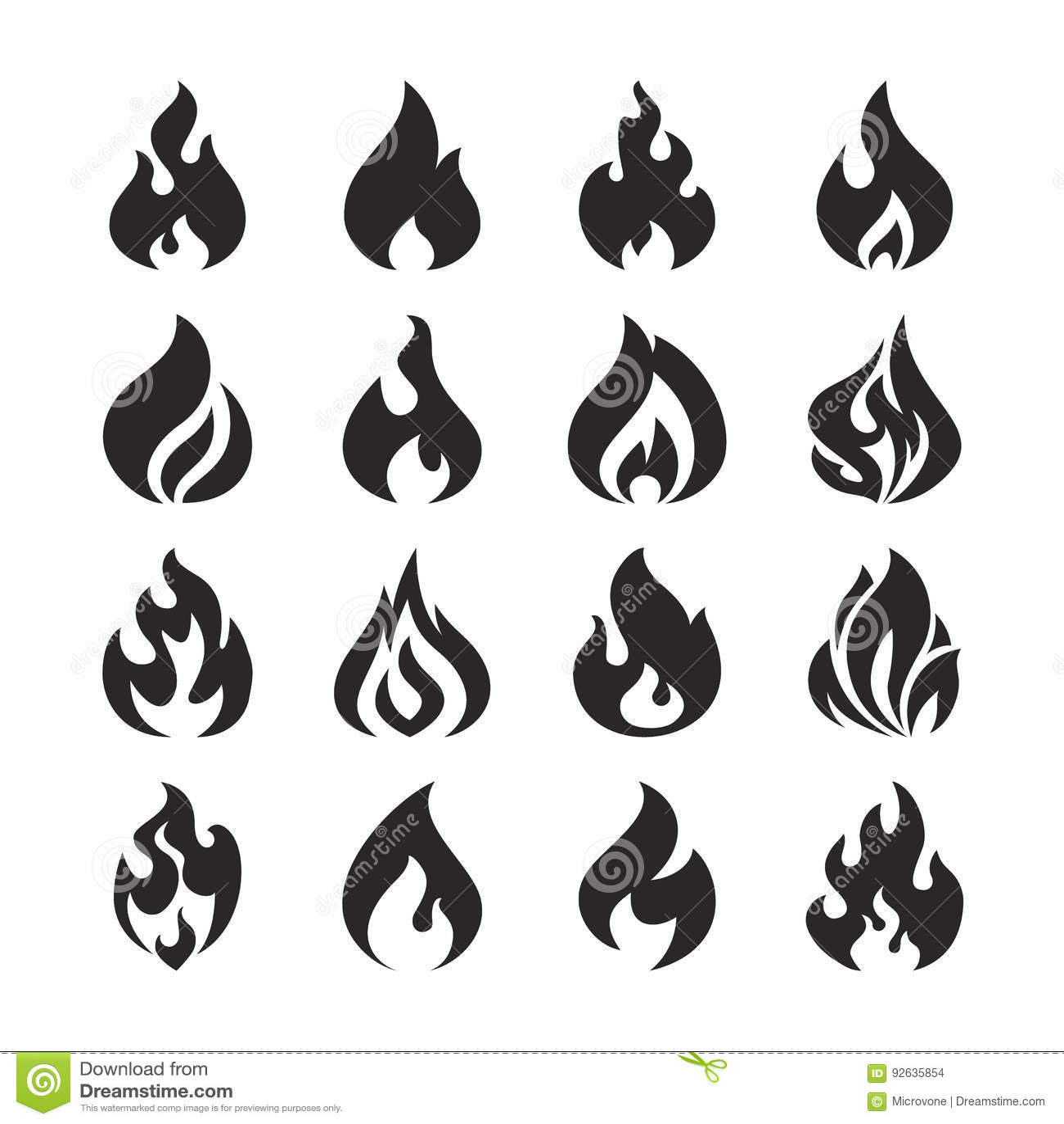 Bonfire Silhouette Stock Illustrations 8 753 Bonfire