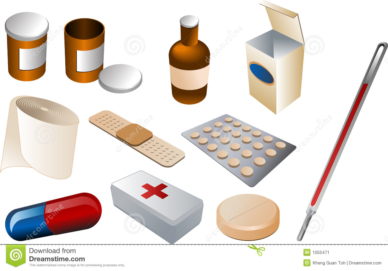 First Aid Kit Stock Vector Illustration Of Container