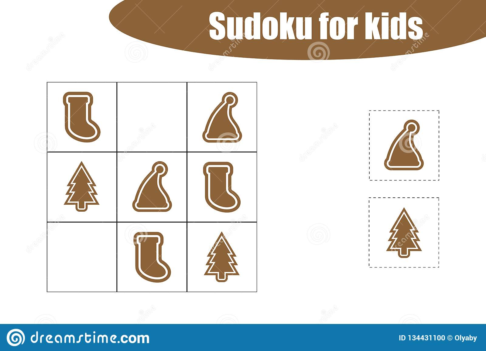 First Sudoku Game With Christmas Pictures