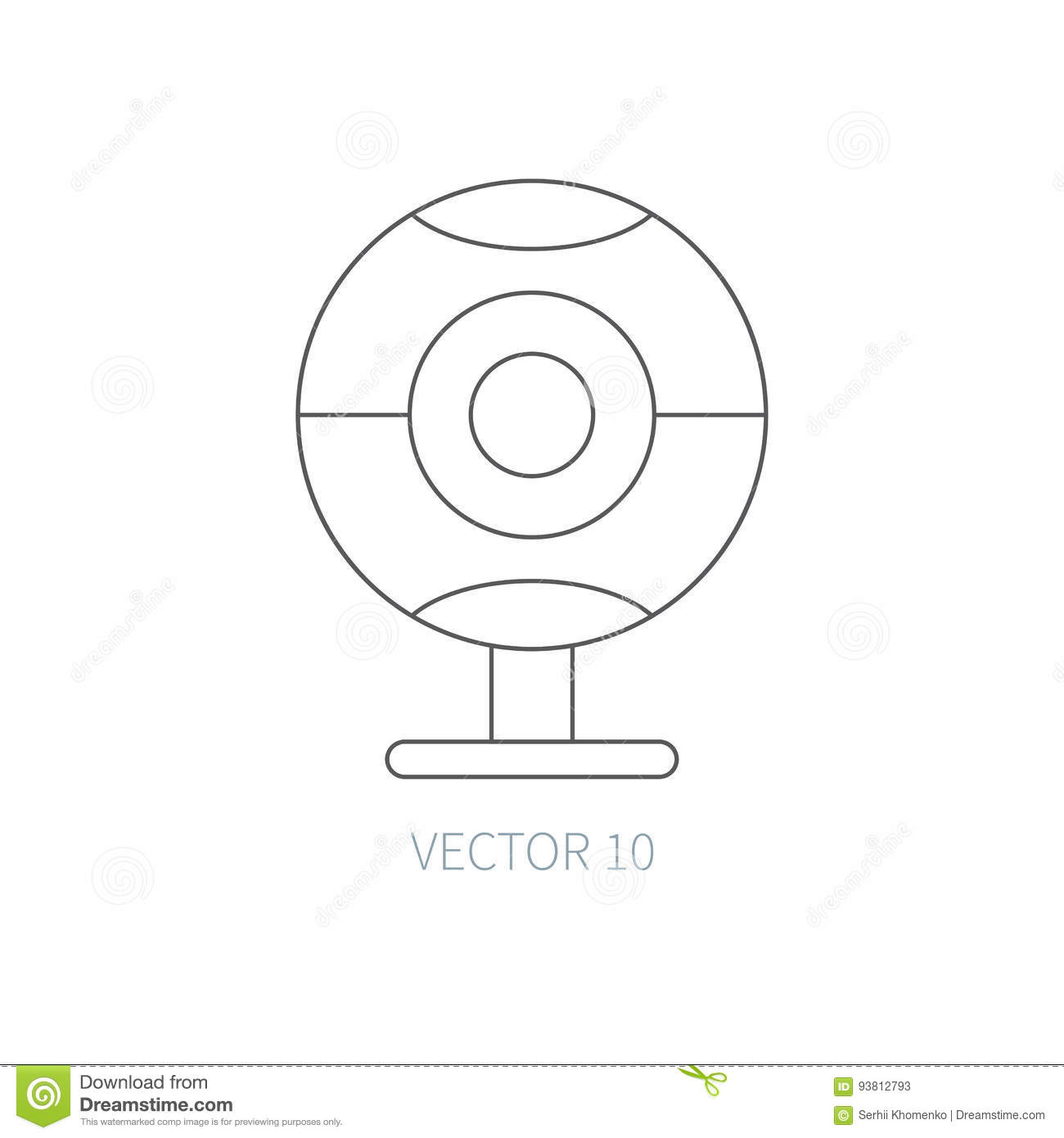 white colored part of the eye wiring diagram database wiring diagram database webcam icon flat style vector illustration