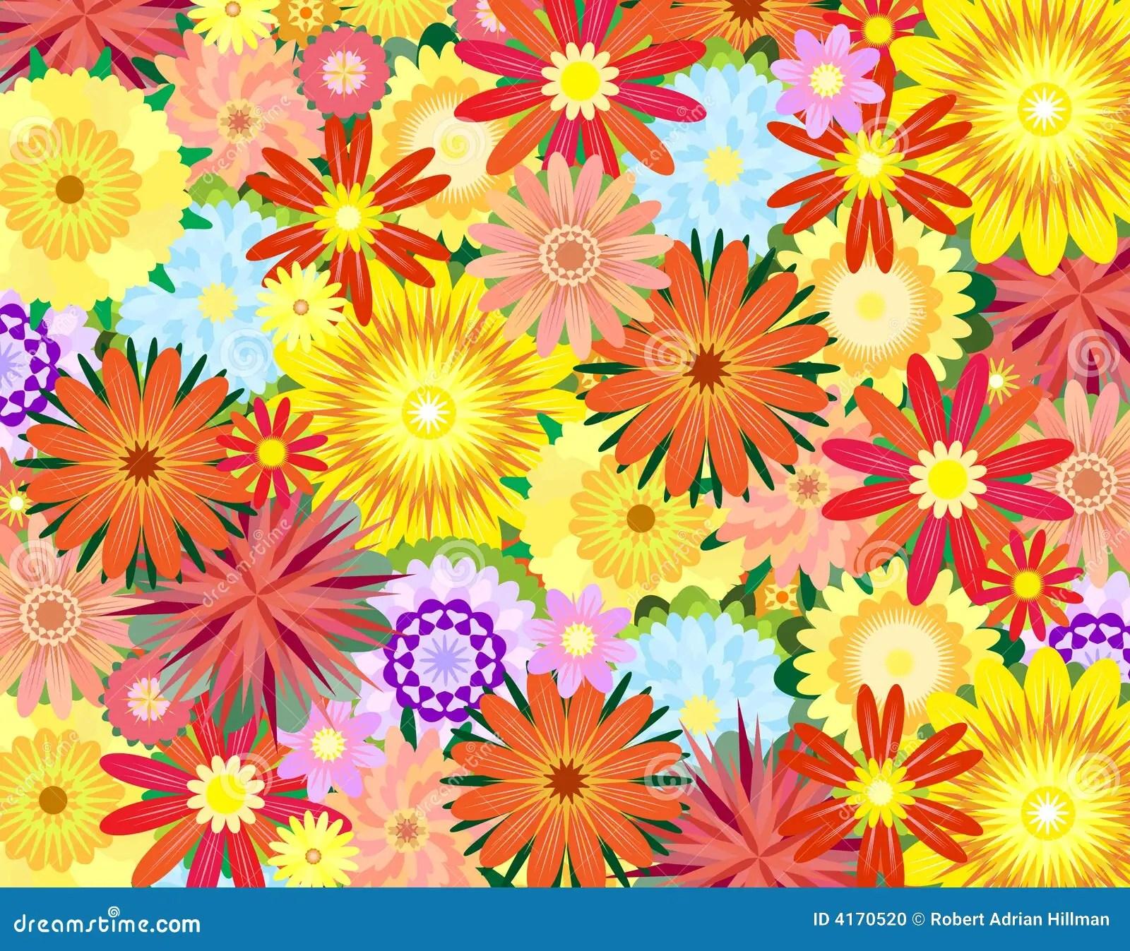 Flower Power Stock Vector Illustration Of Bouquet