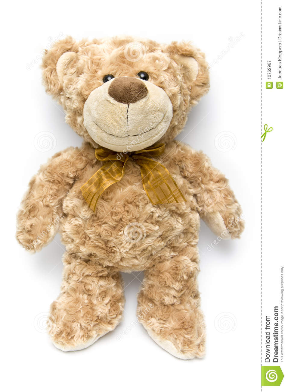 Fluffy Brown Teddy Bear Standing Up Royalty Free Stock
