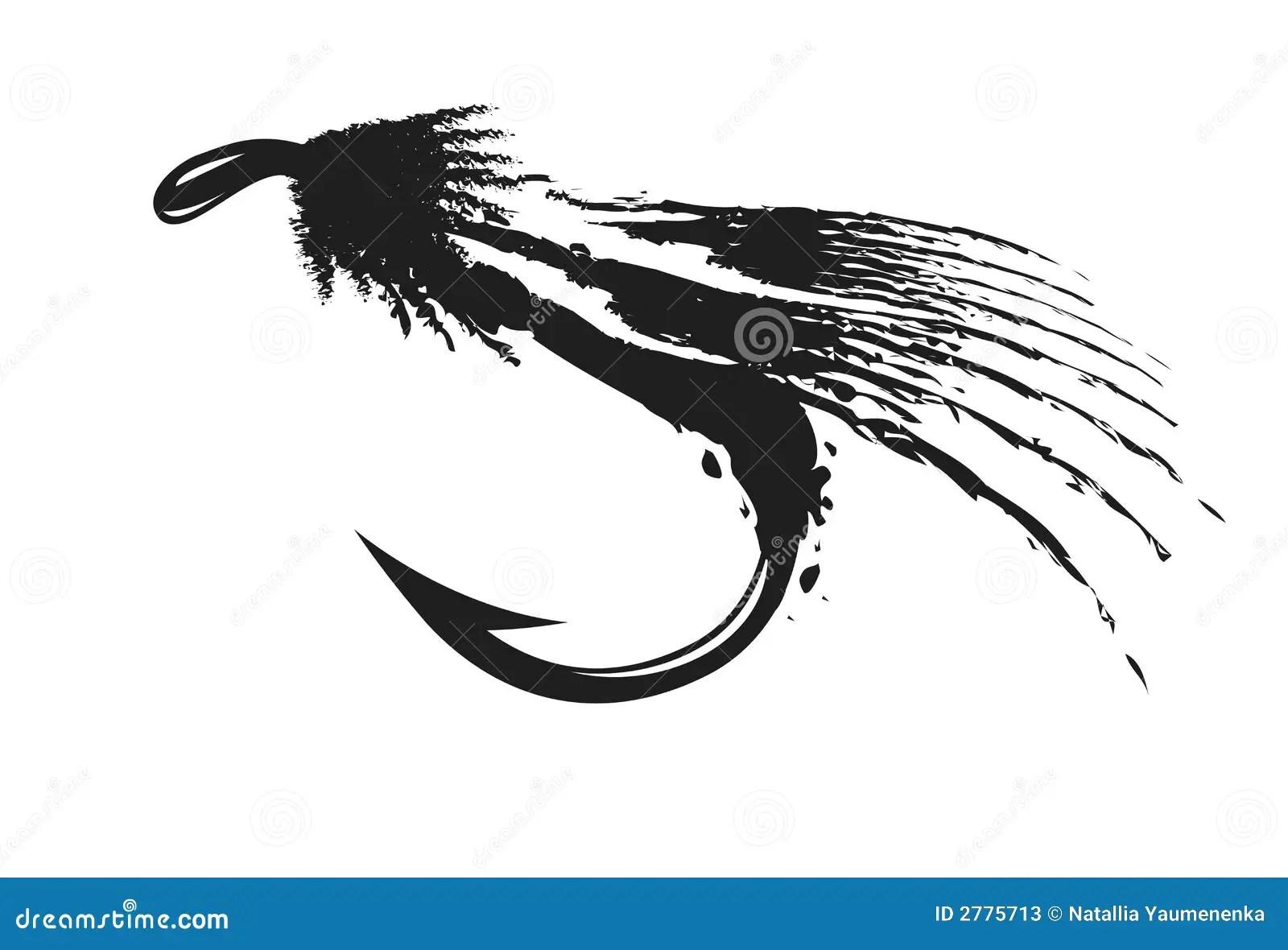 Fly Fishing Stock Vector Illustration Of Illustration