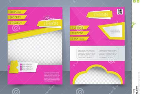 Flyer Template  Business Brochure  Editable A4 Poster For Design     Flyer template  Business brochure  Editable A4 poster for design education  presentation  website  magazine cover  Vector illustration