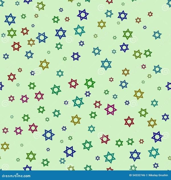 Fond Vert Clair Avec Les étoiles Colorées Illustration ...