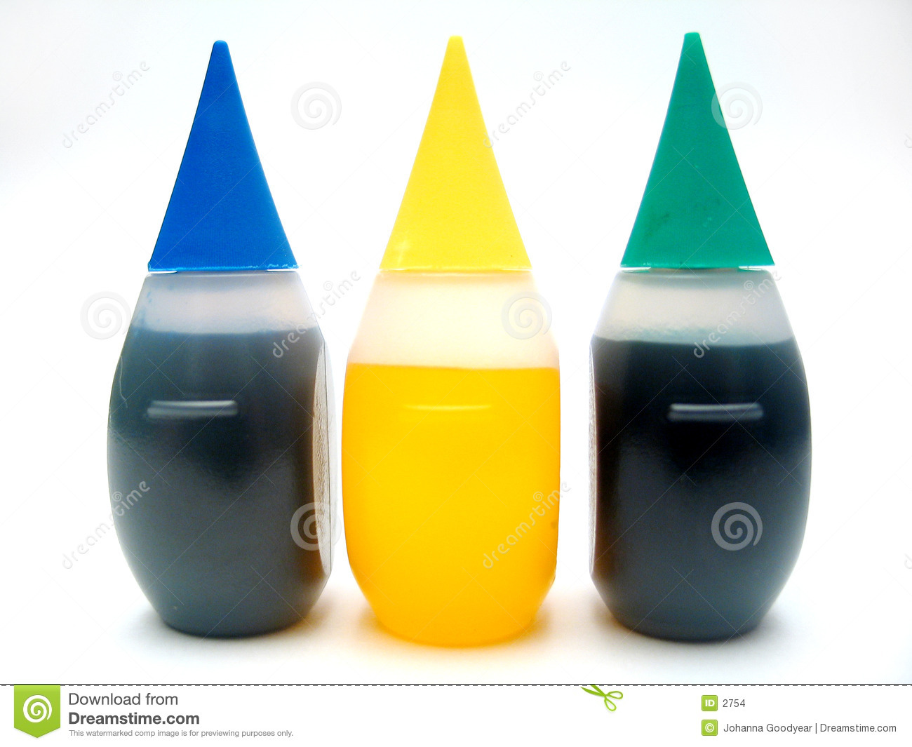 Food Coloring Stock Images