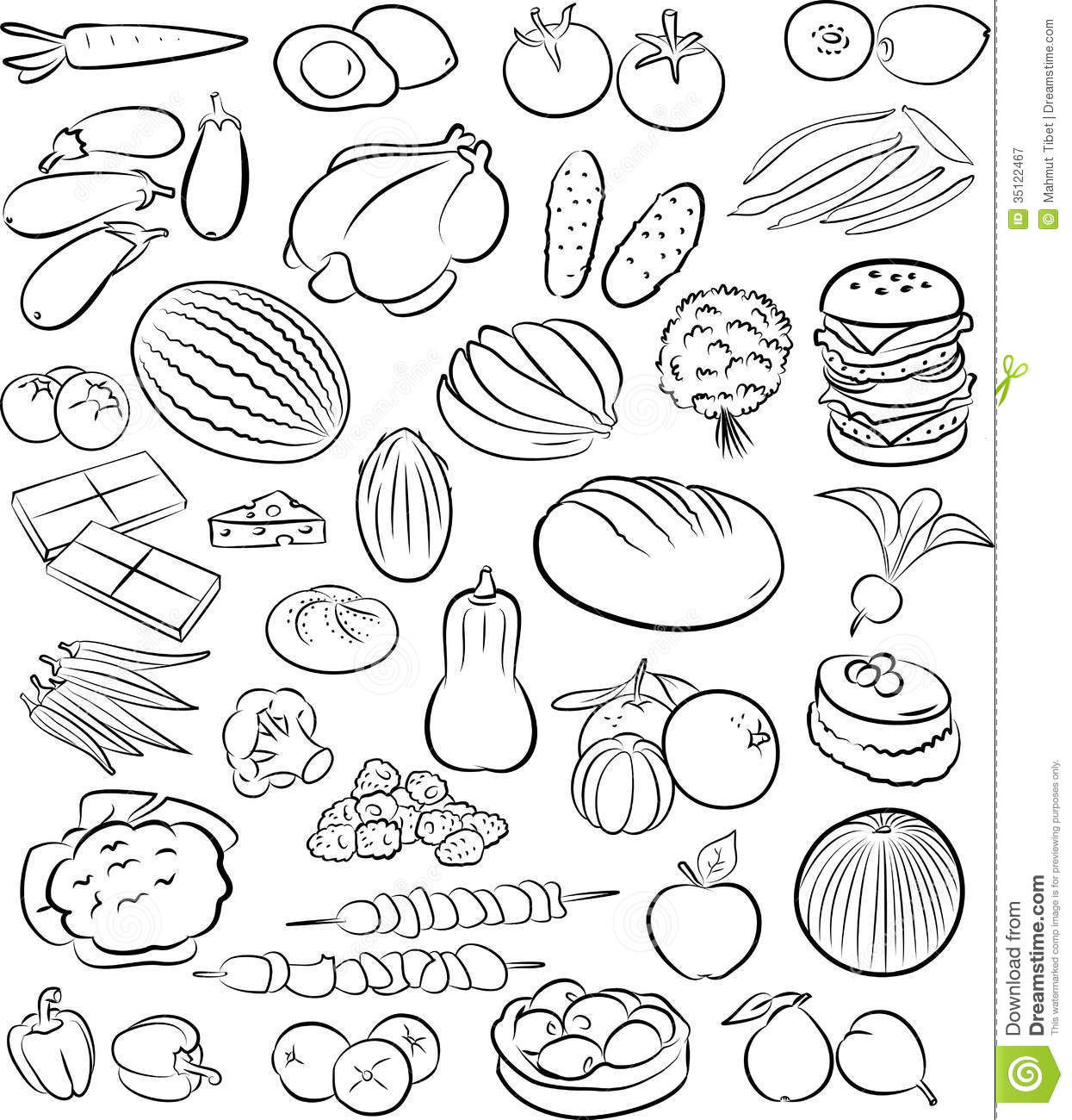 Foods Royalty Free Stock Photography