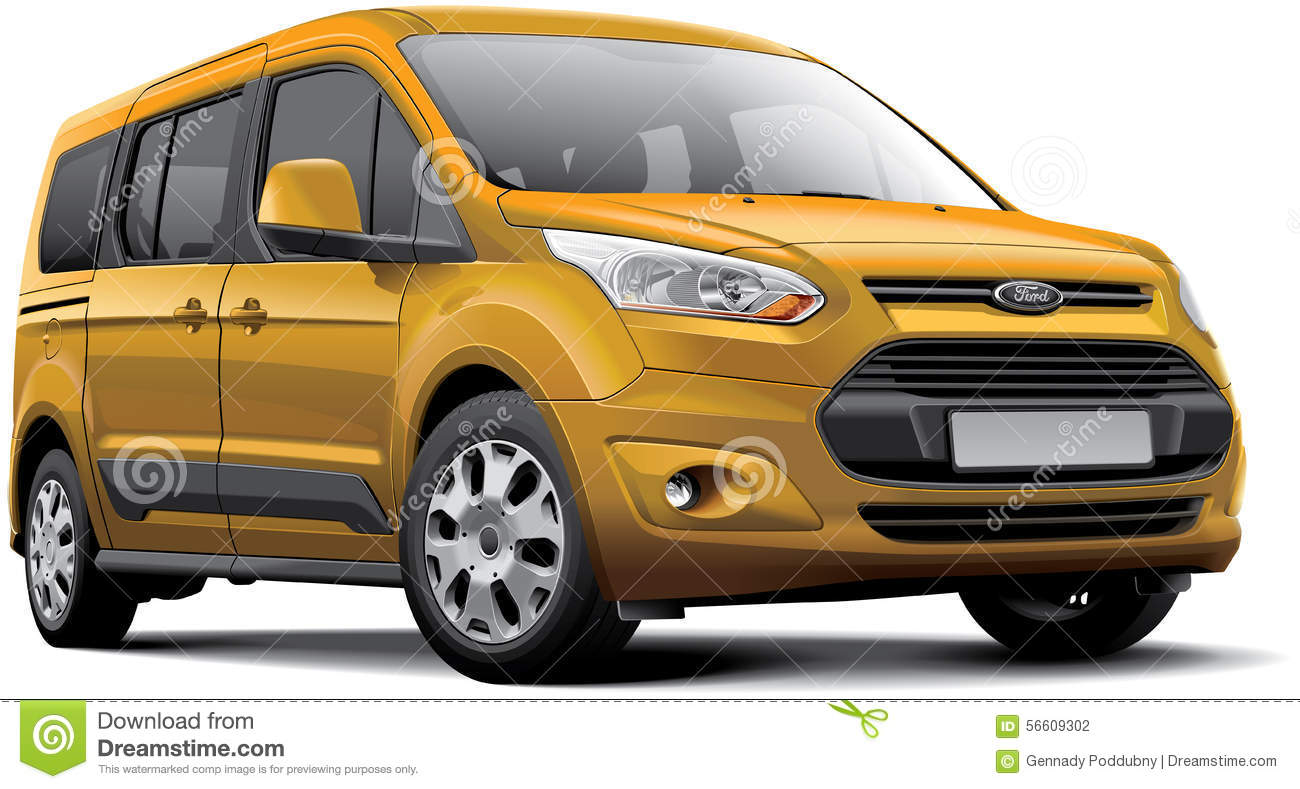 Ford Tourneo Connect Editorial Photography