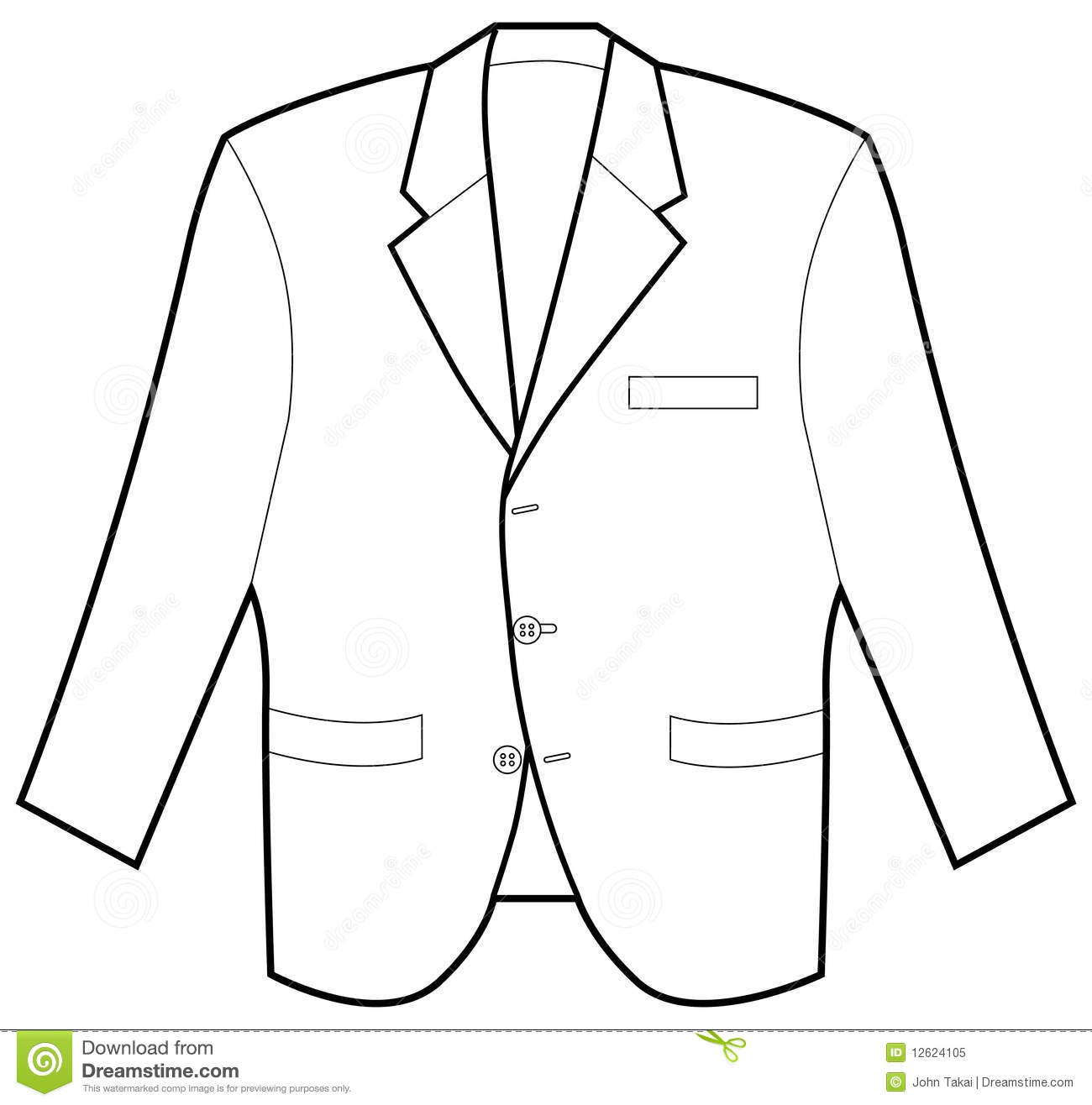 Formal Jacket Royalty Free Stock Photo