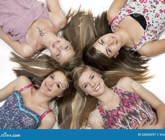 Four Teen Girls