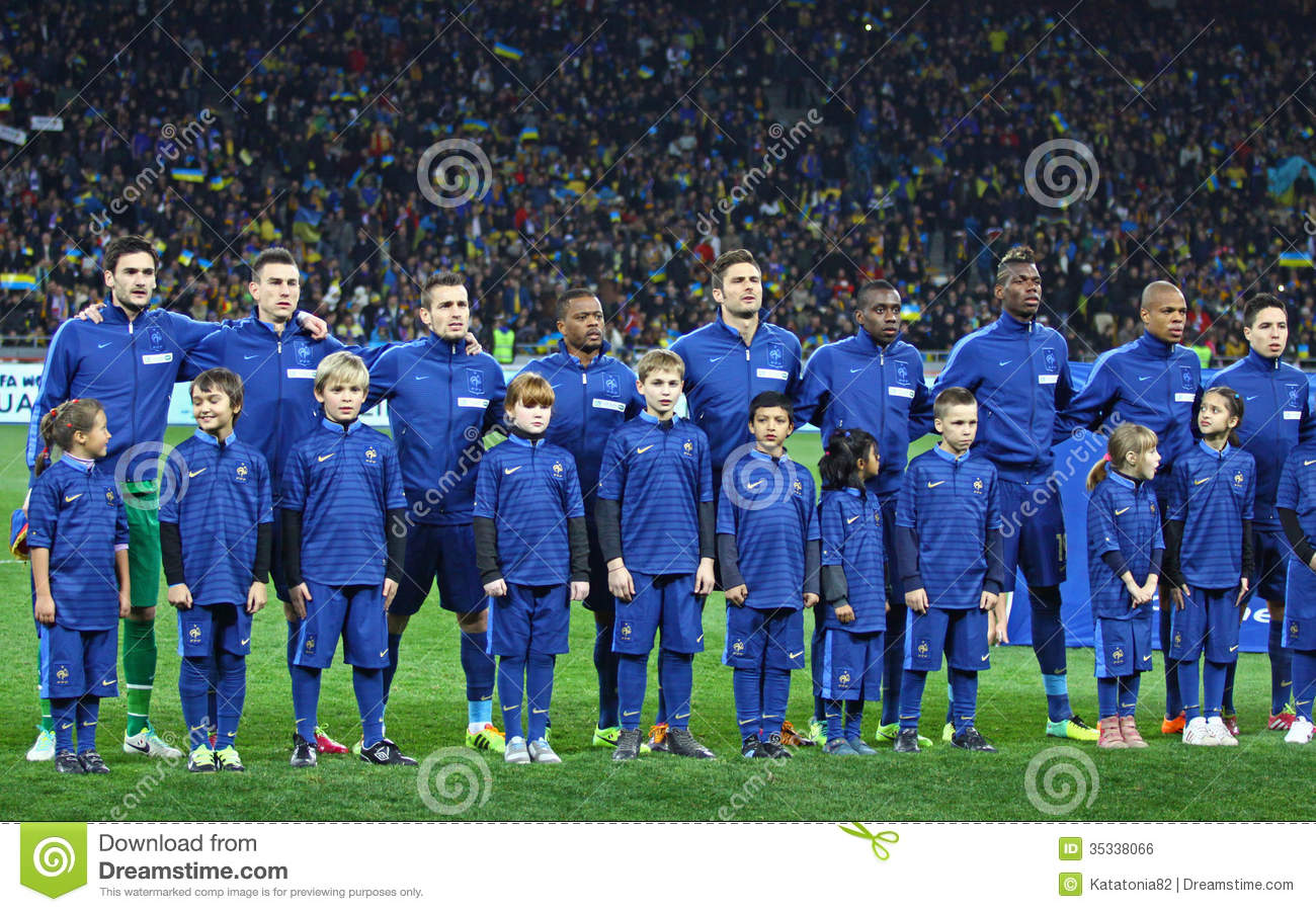 Winning the national championship is a (sometimes contentious) moment of triumph. France National Football Team Players Editorial Photo Image Of Brazil Anthem 35338066