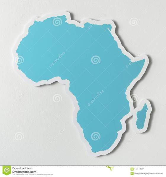Free blank map of Africa stock illustration  Illustration of     Free blank map of Africa