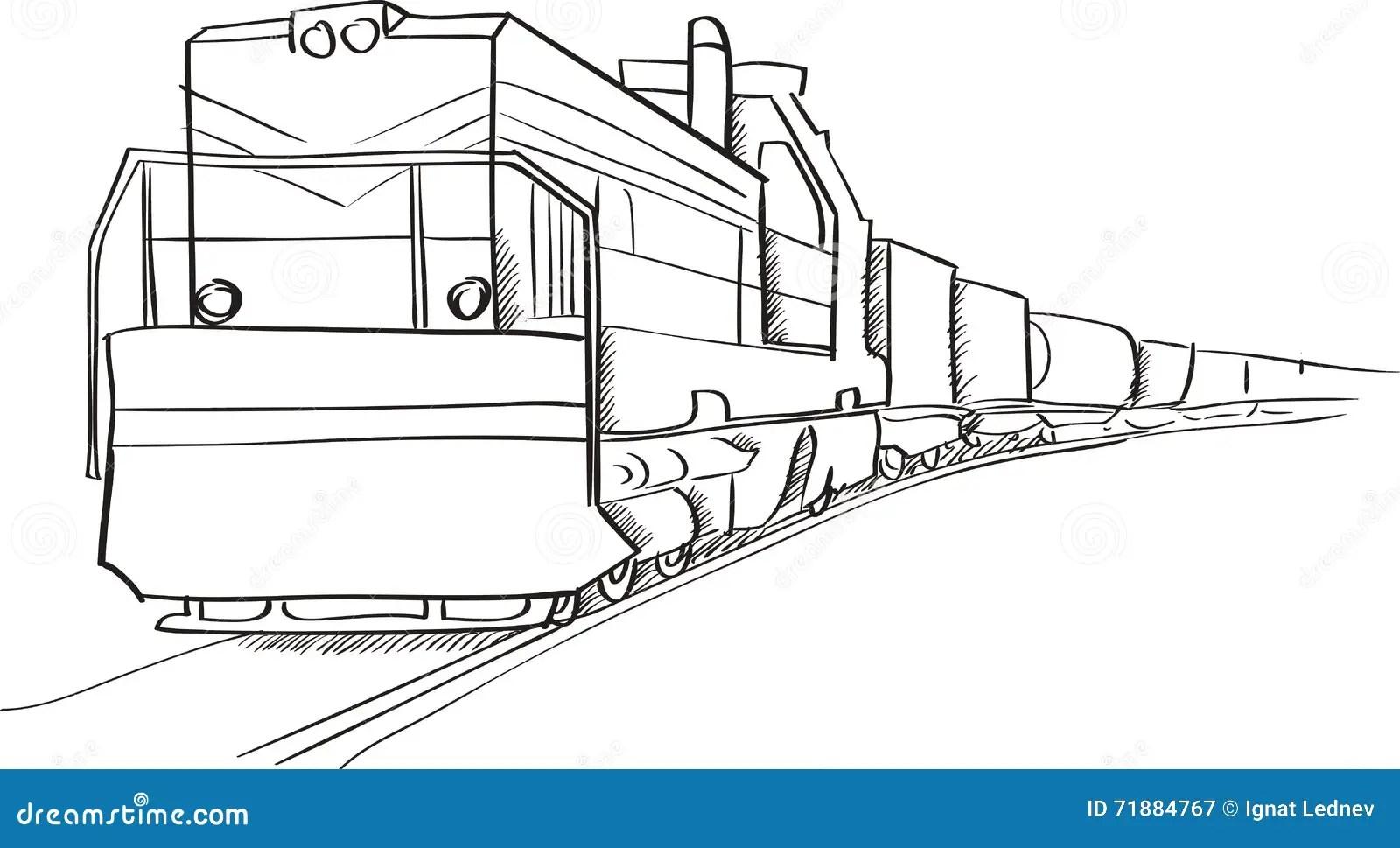 Electric Freight Locomotive Model