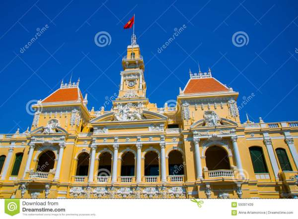 French Style Of Building In Vietnam Asia Beautiful Ho