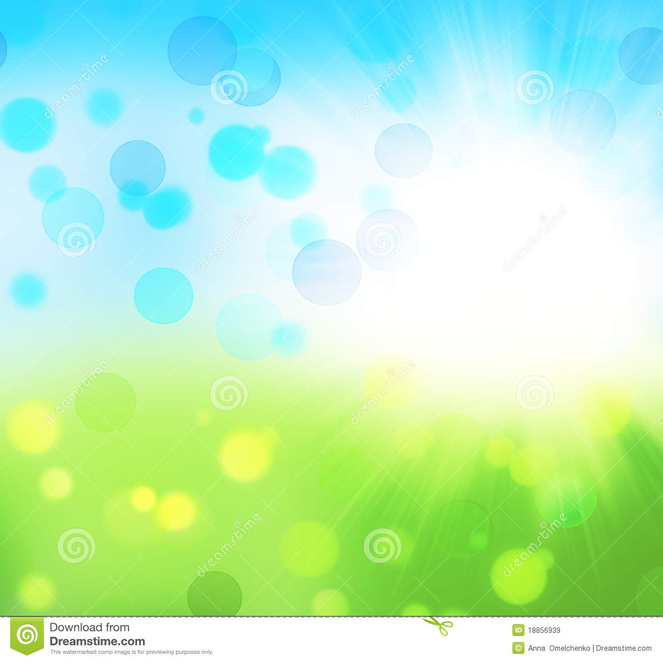 Fresh Nature Abstract Background Royalty Free Stock Images