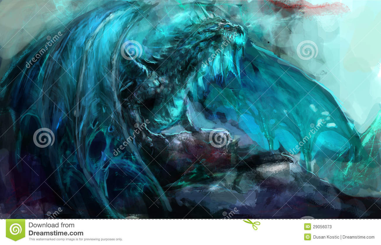 Frost Dragon Stock Photos Image 29056073