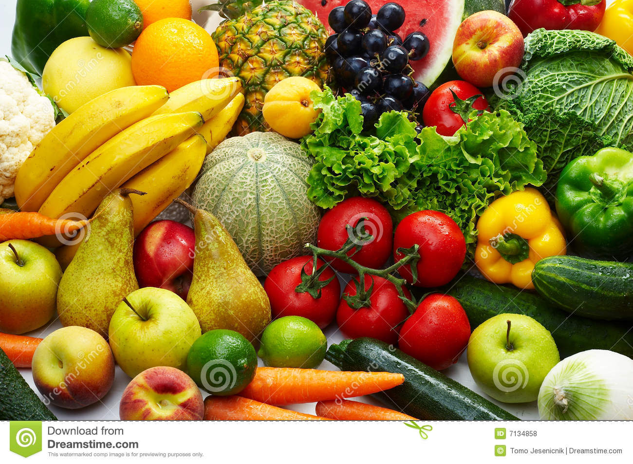Fruit And Vegetables Stock Photo Image Of Pear Nutrition
