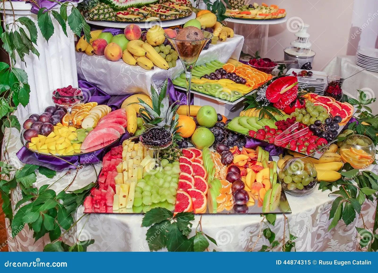 Fruits Decoration Stock Image Image Of Decoration Fresh