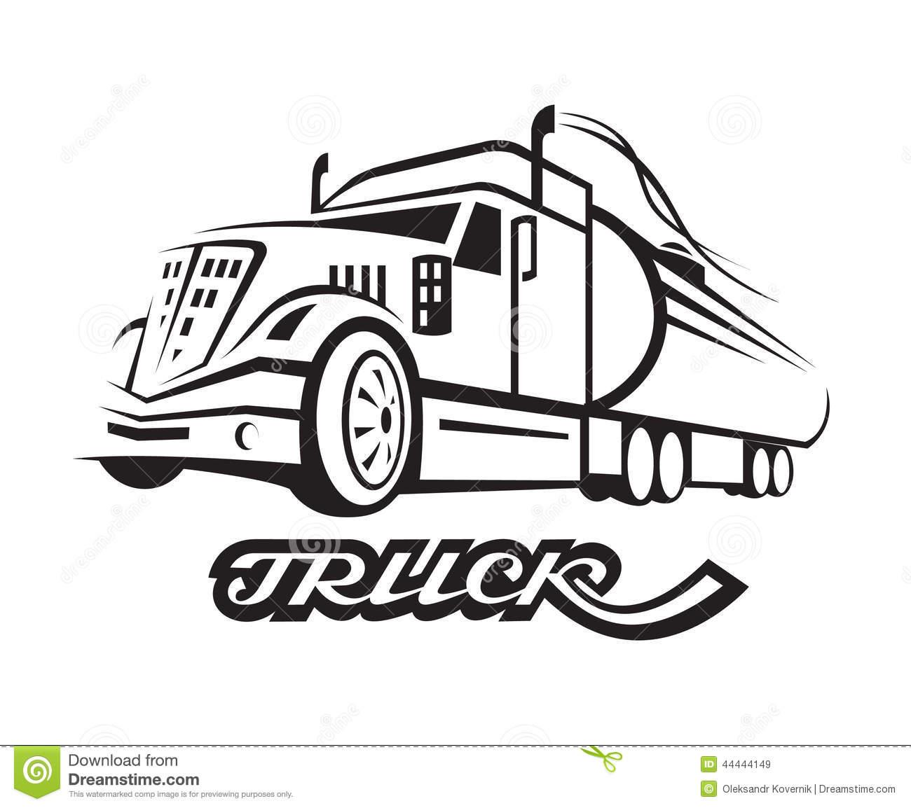 Fuel Truck Stock Vector Illustration Of Delivery Deliver