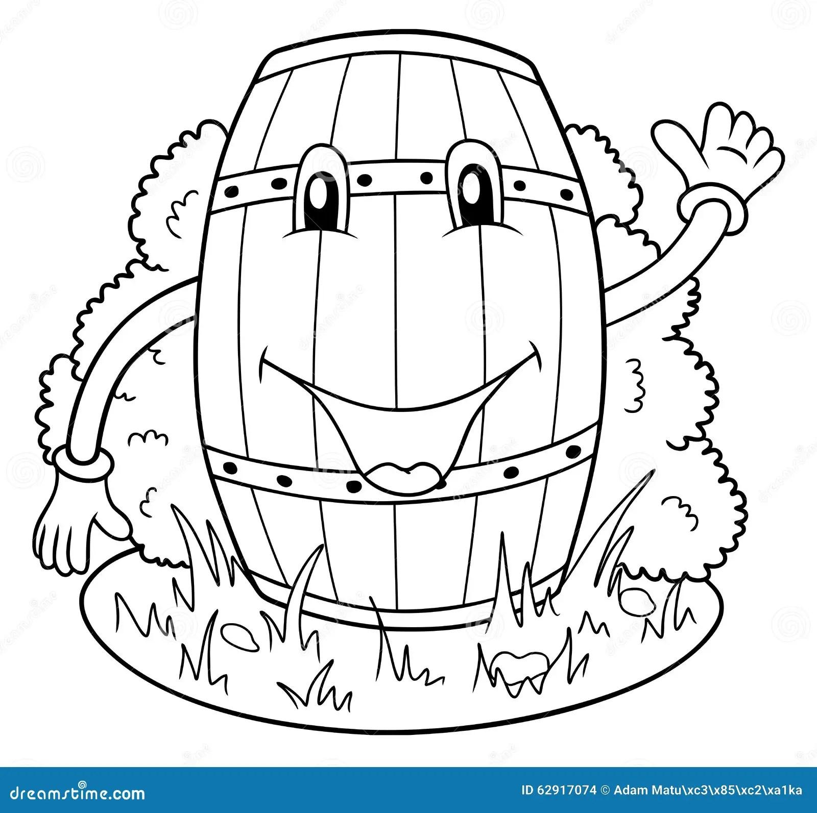 Funny Keg Stock Vector Illustration Of Smile Clipart