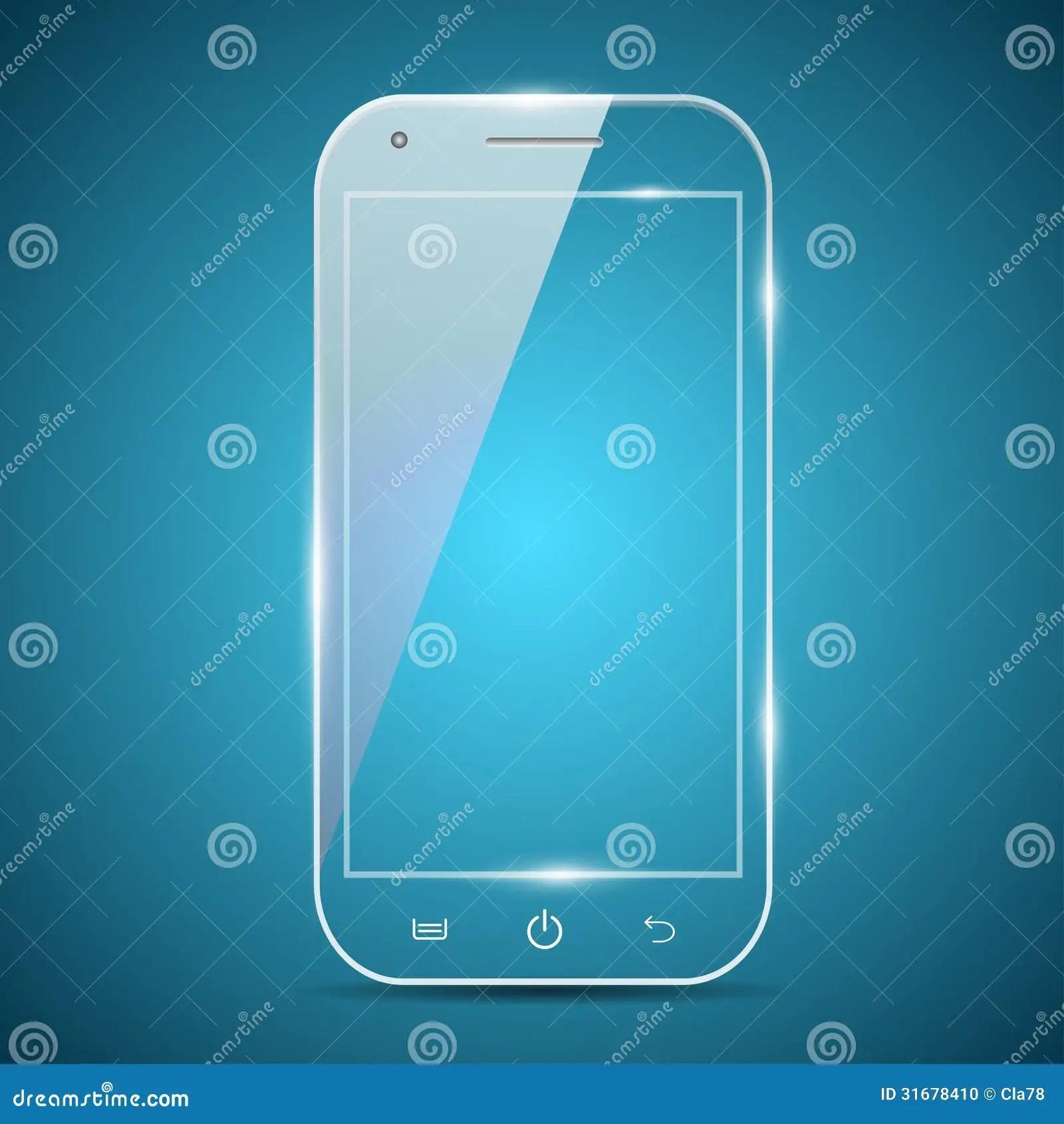 A Futuristic Smartphone Stock Illustration Image Of Black 31678410
