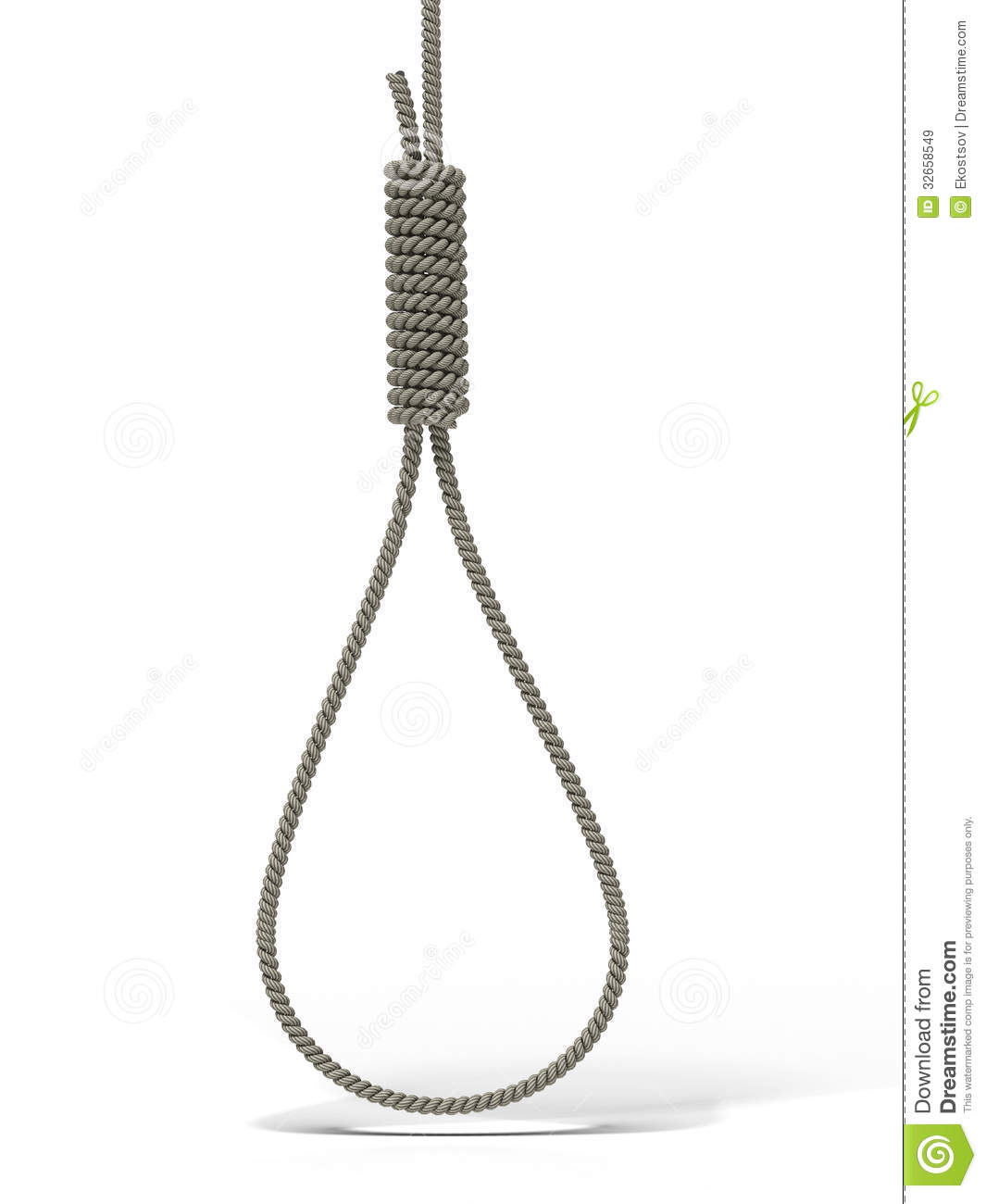 Gallows Noose Royalty Free Stock Images