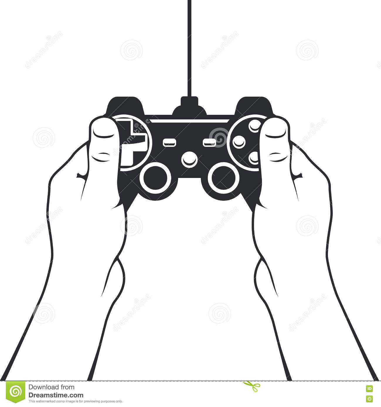 Gamepad In Hands Icon