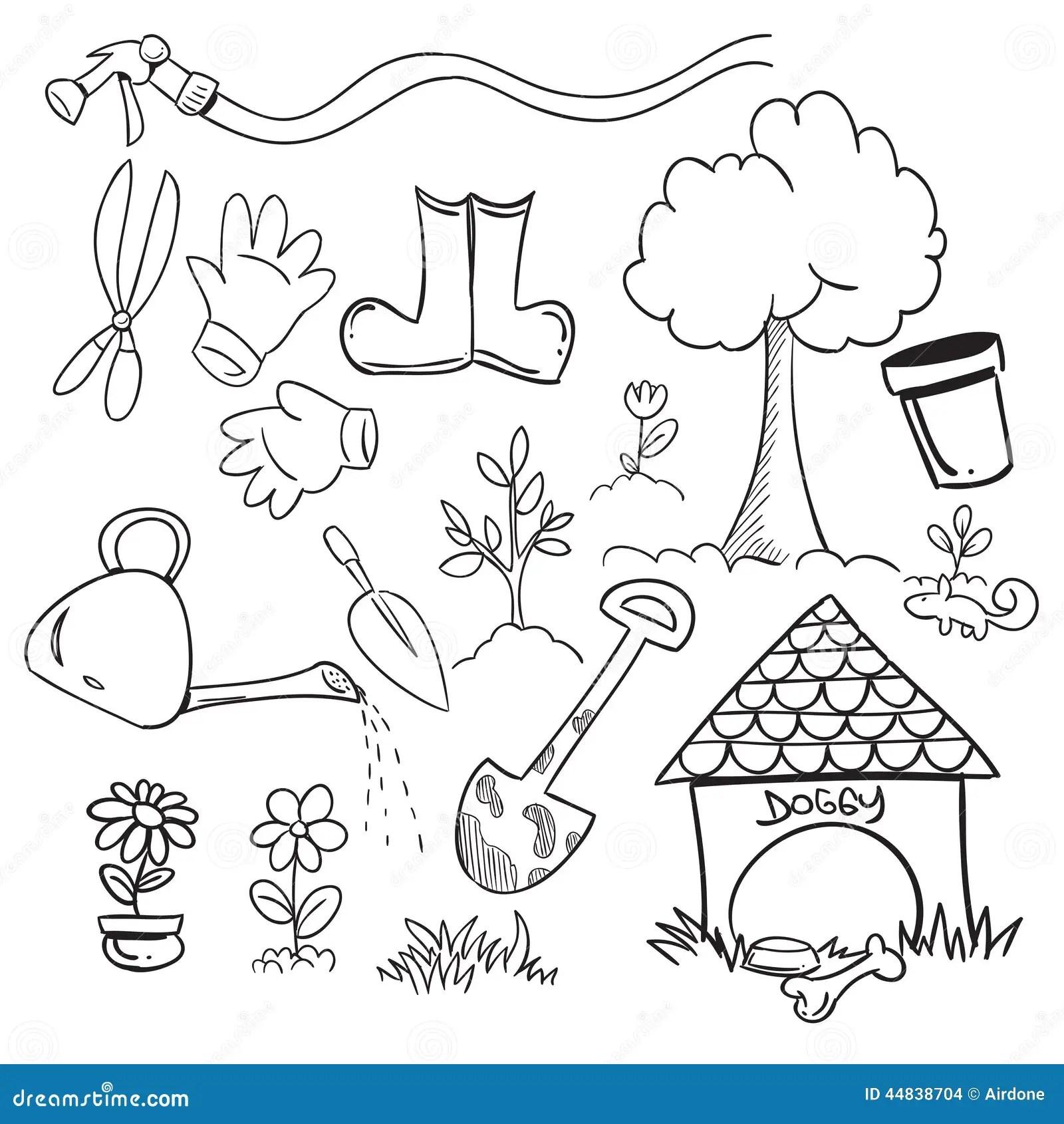 Gardening Stock Vector Illustration Of Cultivate Flower