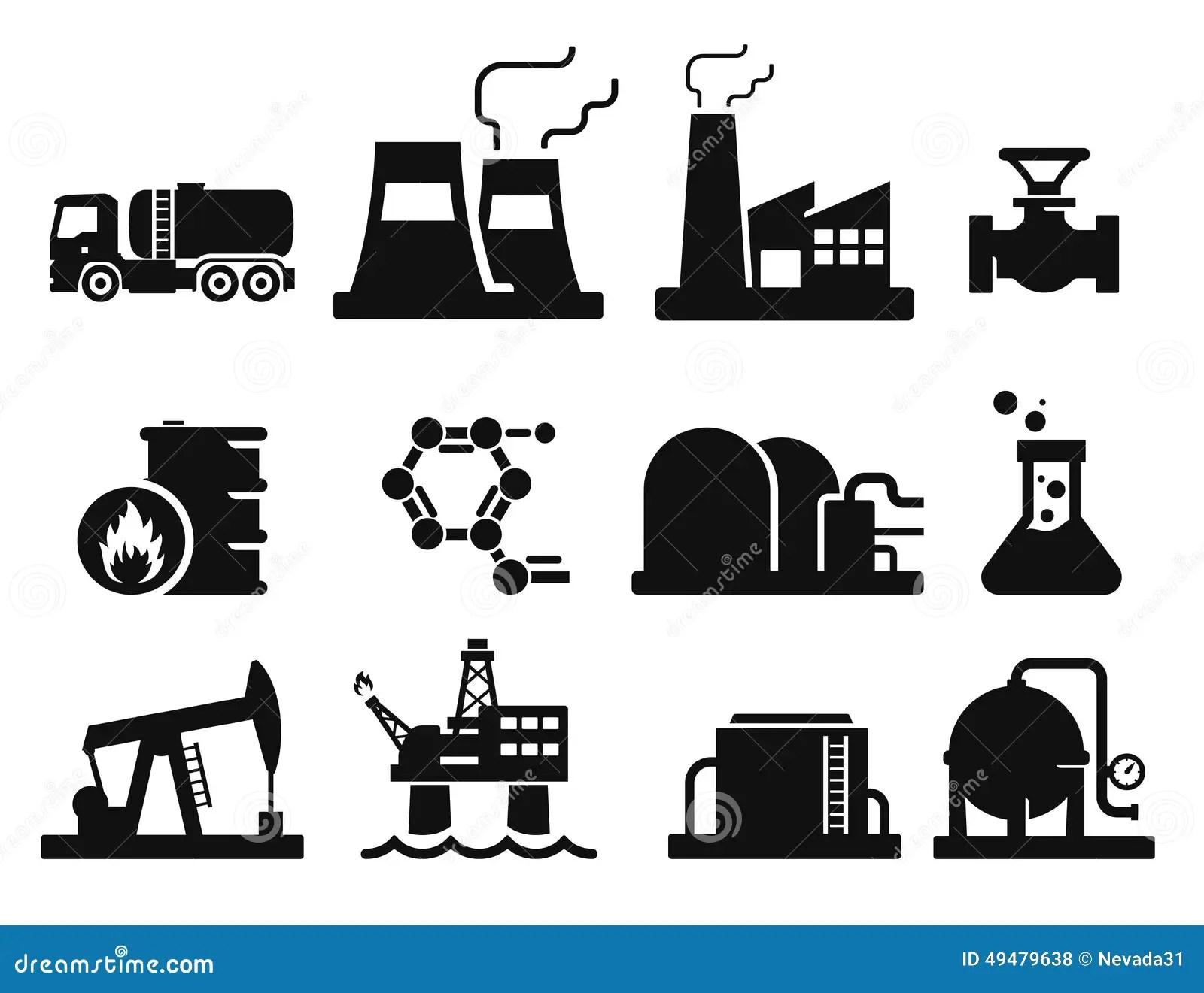 Gas And Oil Stock Illustration Illustration Of Symbol