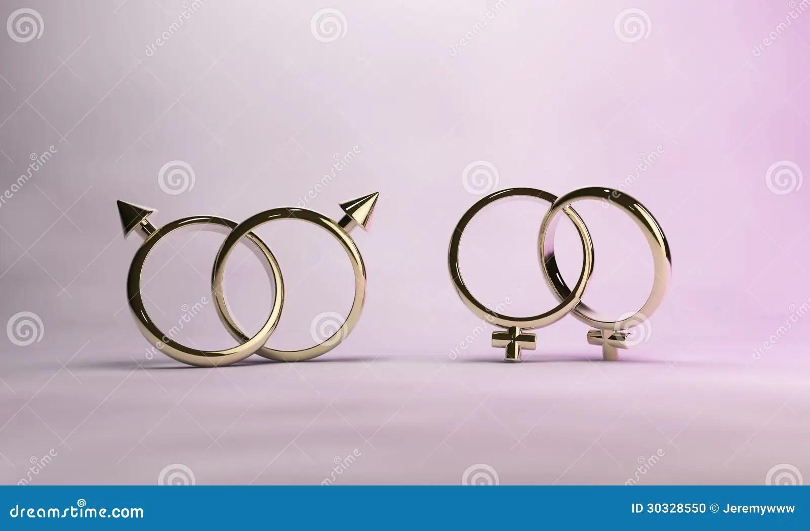 Gay Marriage Stock Illustration Illustration Of Love