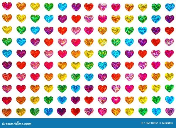 hearts colors # 50