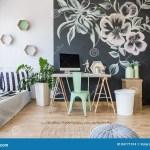 Gemutliches Schlafzimmer Mit Dekoration Stockfoto Bild Von Dekoration Gemutliches 84771914