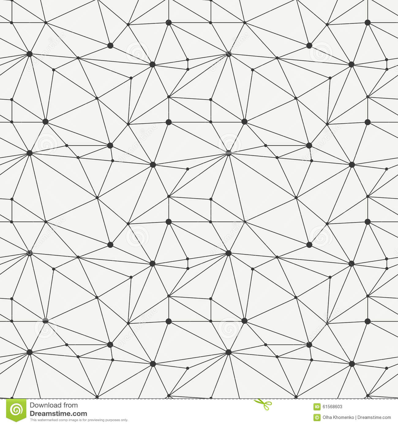 Geometric Line Hipster Seamless Pattern With Stock Vector