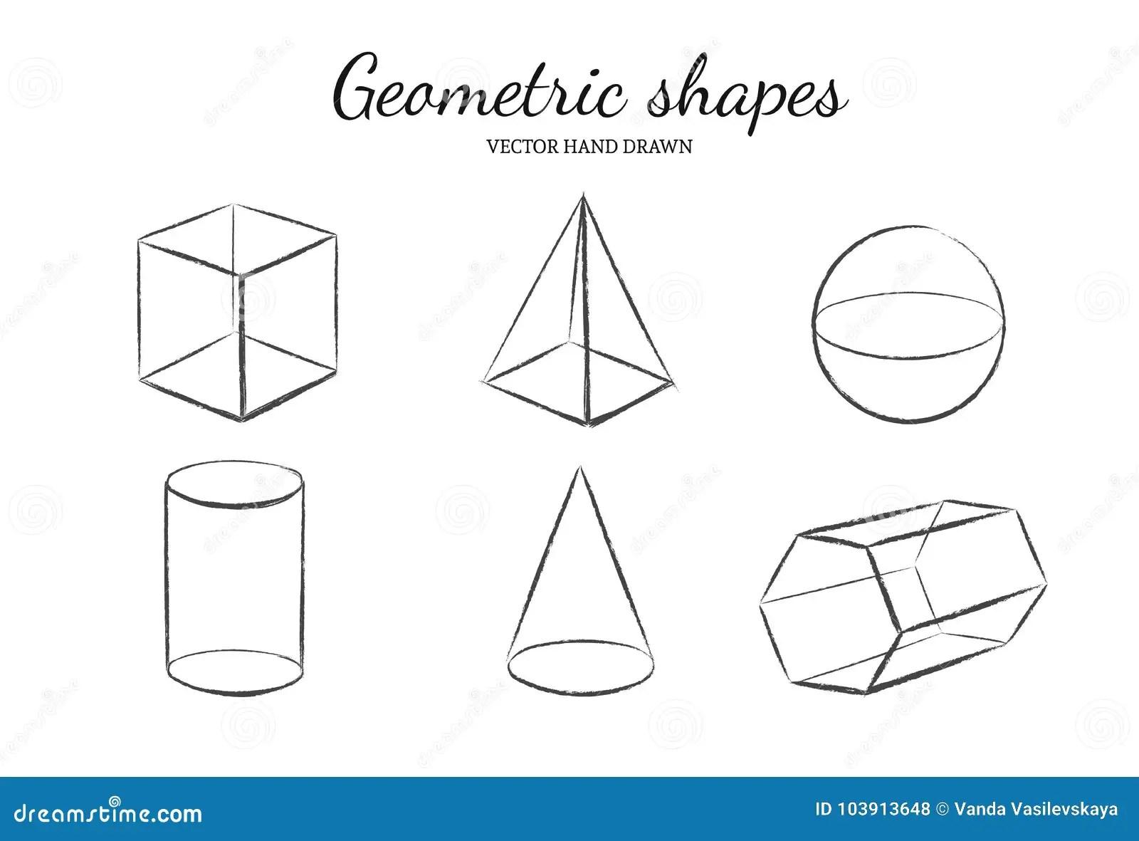 Geometric Shapes Set 3 Stock Vector Illustration Of