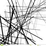 Geometrische Kunst Von Gelegentlichen Schneidenen Linien Abstraktes Chaotisches Tex Vektor Abbildung Illustration Von Abstraktes Chaotisches 90407018