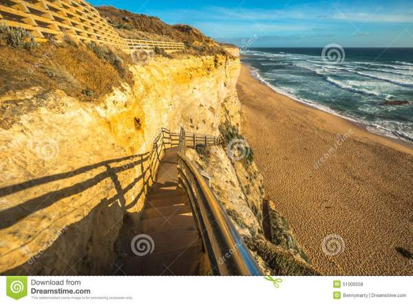 Gibson Steps lookout stock photo. Image of geological ...