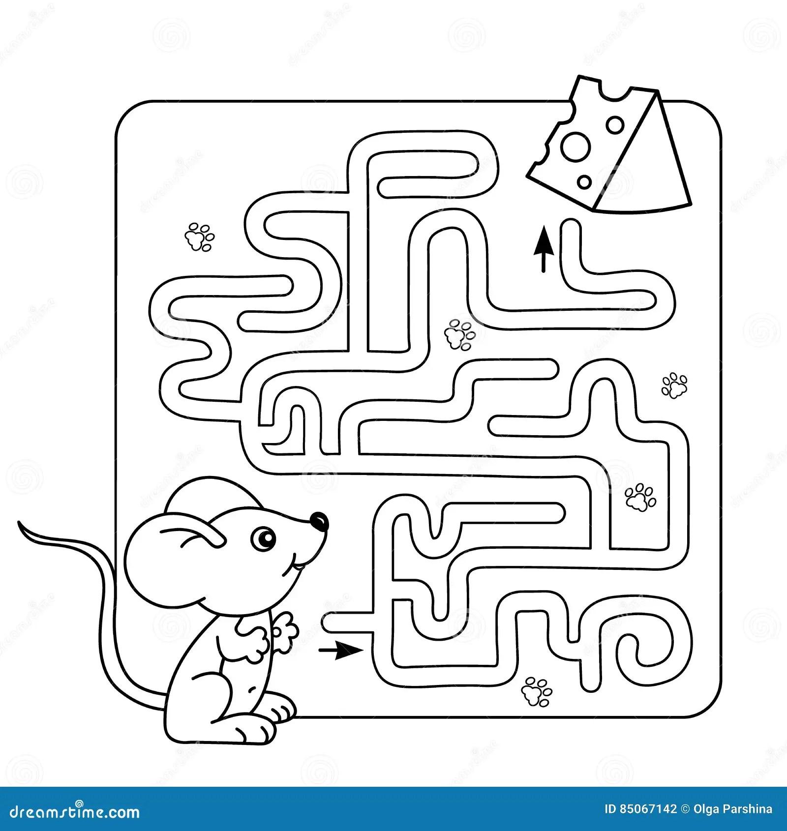 Gioco Del Labirinto O Del Labirinto Per I Bambini In Eta