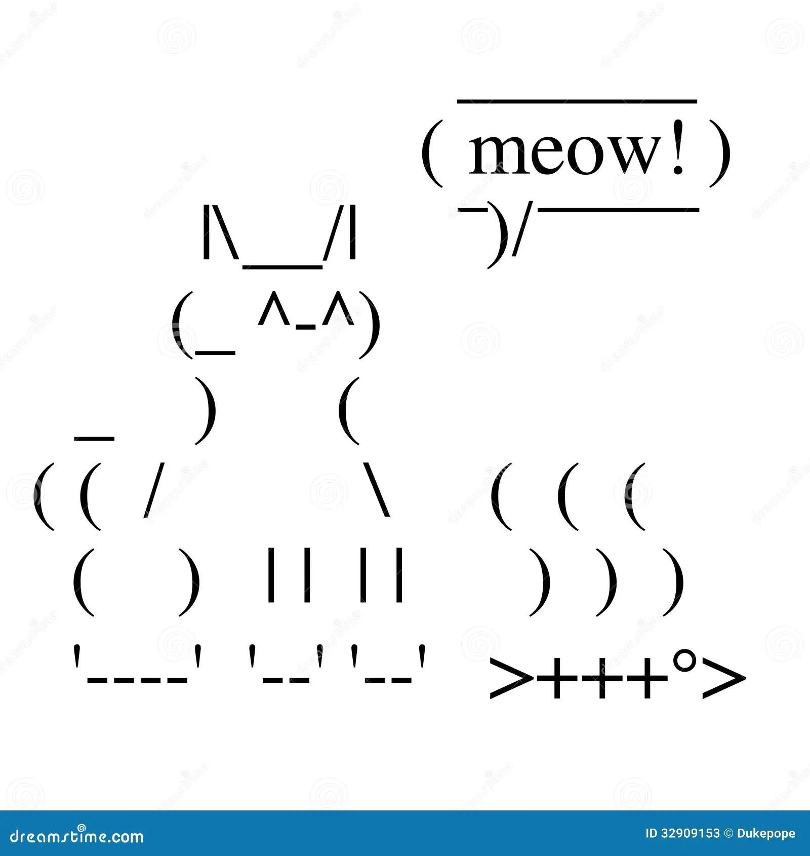 Gluckliche Katze Vektor Abbildung Illustration Von