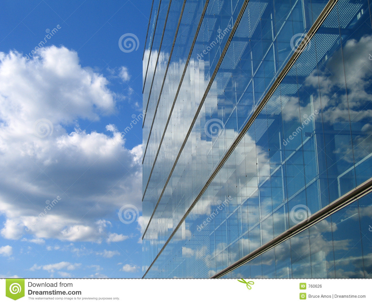 Glass Building Reflection Royalty Free Stock Image Image