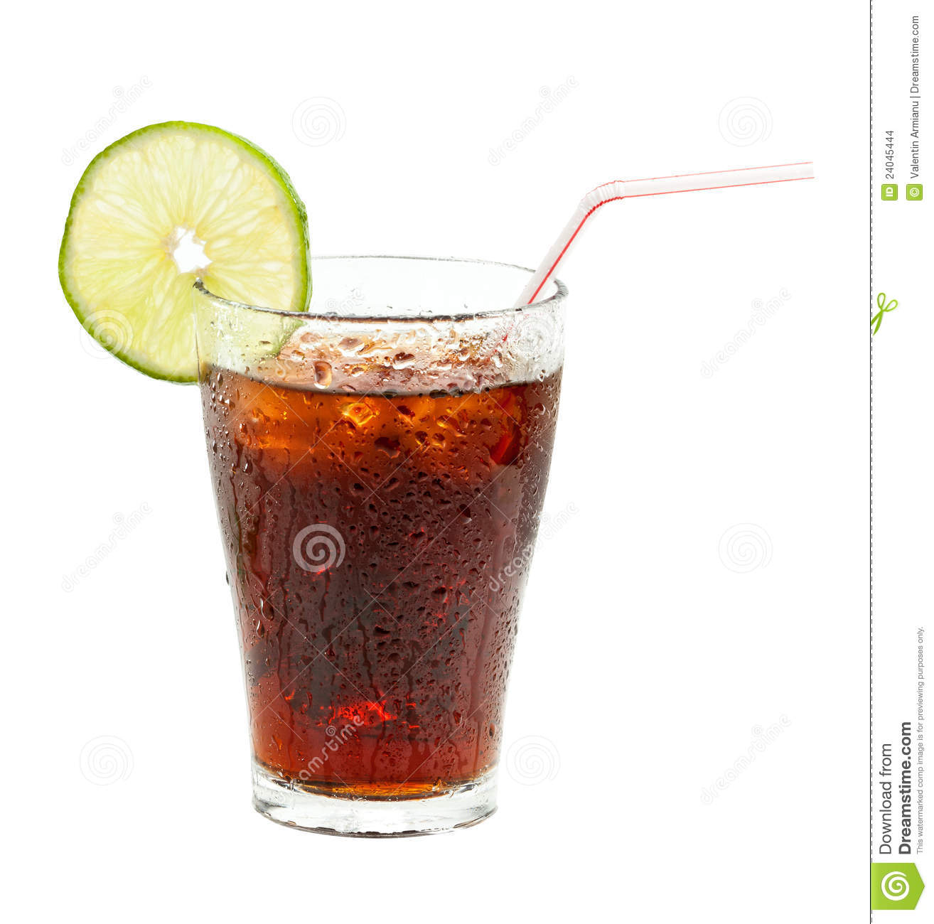 Glass Of Coke Stock Images Image 24045444
