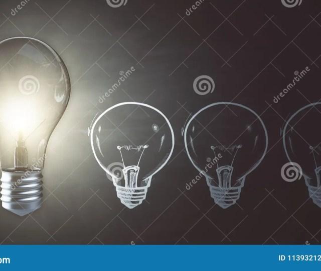 Glowing Lamp Wallpaper