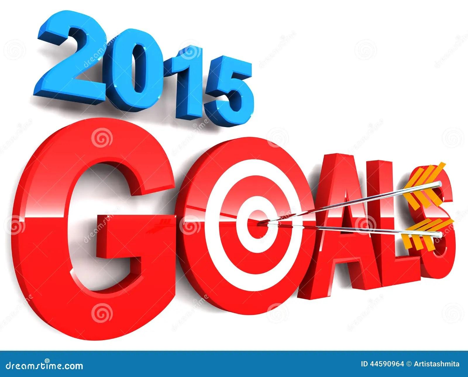 Goals Stock Illustration Illustration Of Ahead