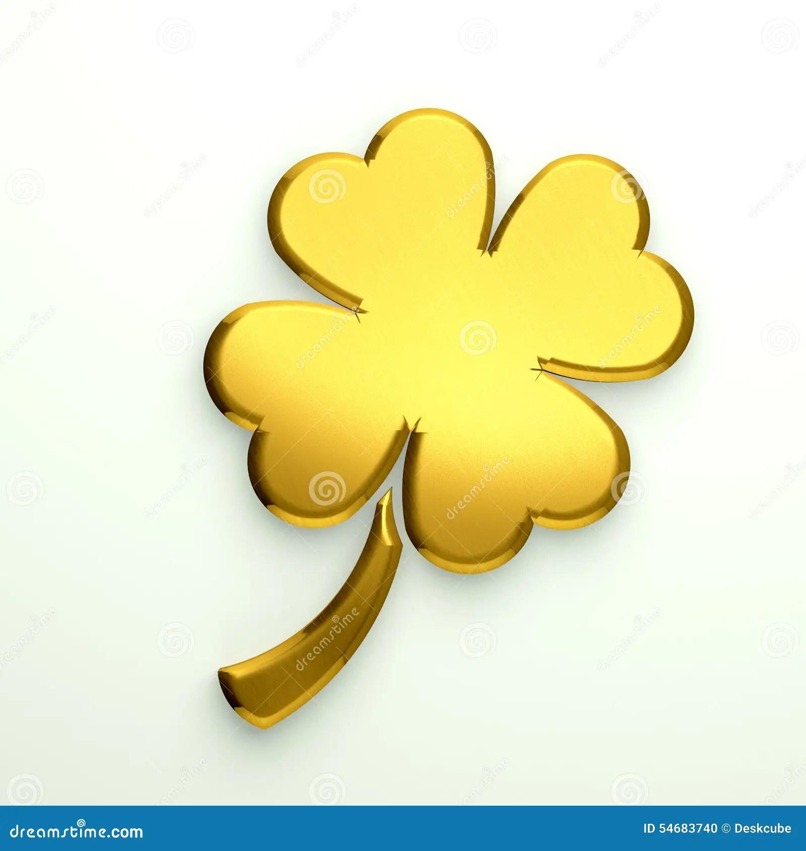 Leaf Luck Clover Good 4