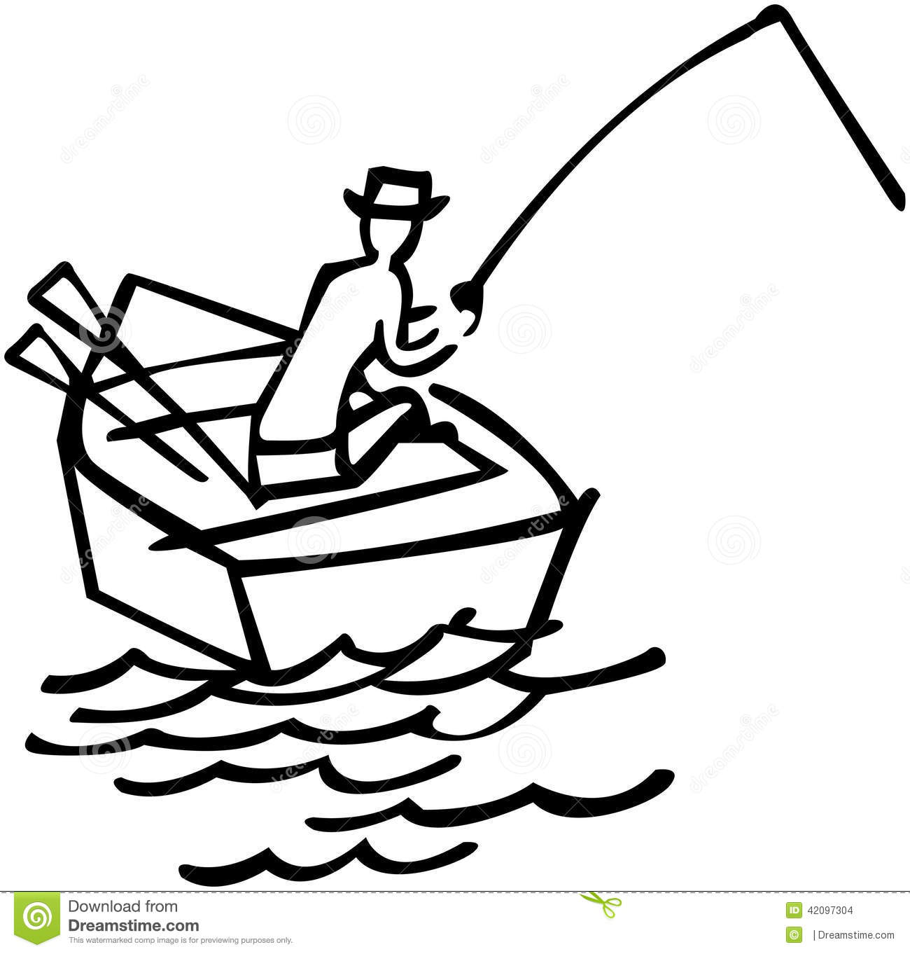 Rowboats Cartoons Illustrations Amp Vector Stock Images