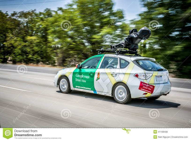 GOOGLE MAPS STREET VIEW CAR  Editorial Stock Photo   Image of     Download comp