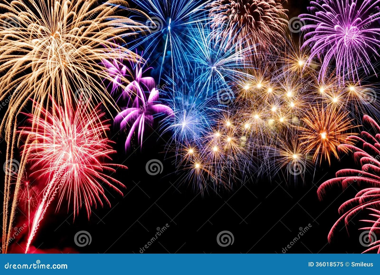 Gorgeous Fireworks Display Royalty Free Stock Photo