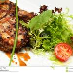 Gourmet Food Restaurant Meat Stock Image Image Of Meat Pork 41734905