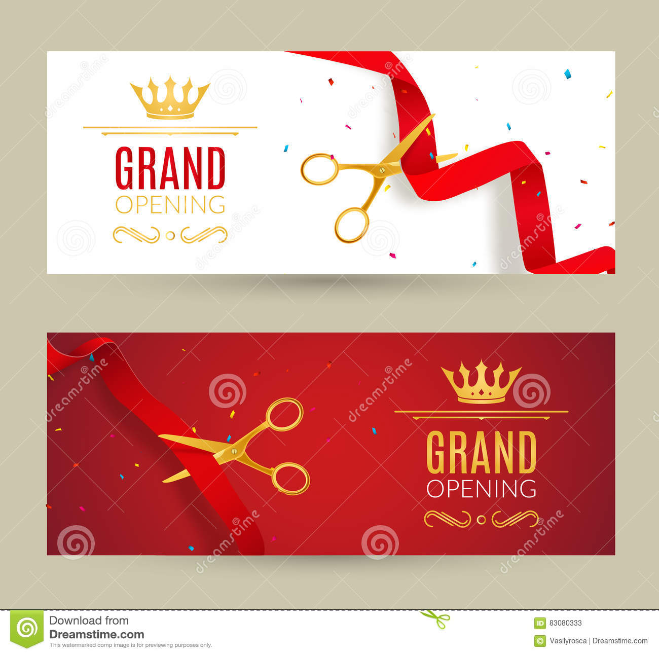 Office Holiday Party Invitation Template Vector
