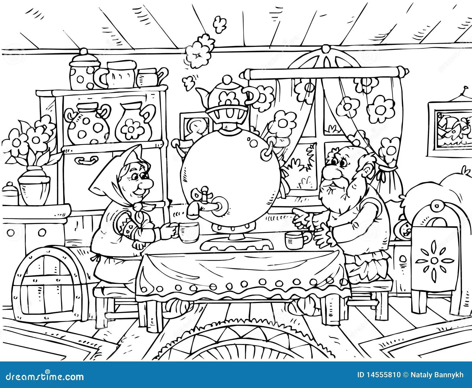 Grandpa Grandma Granddaughter And Big Turnip Royalty